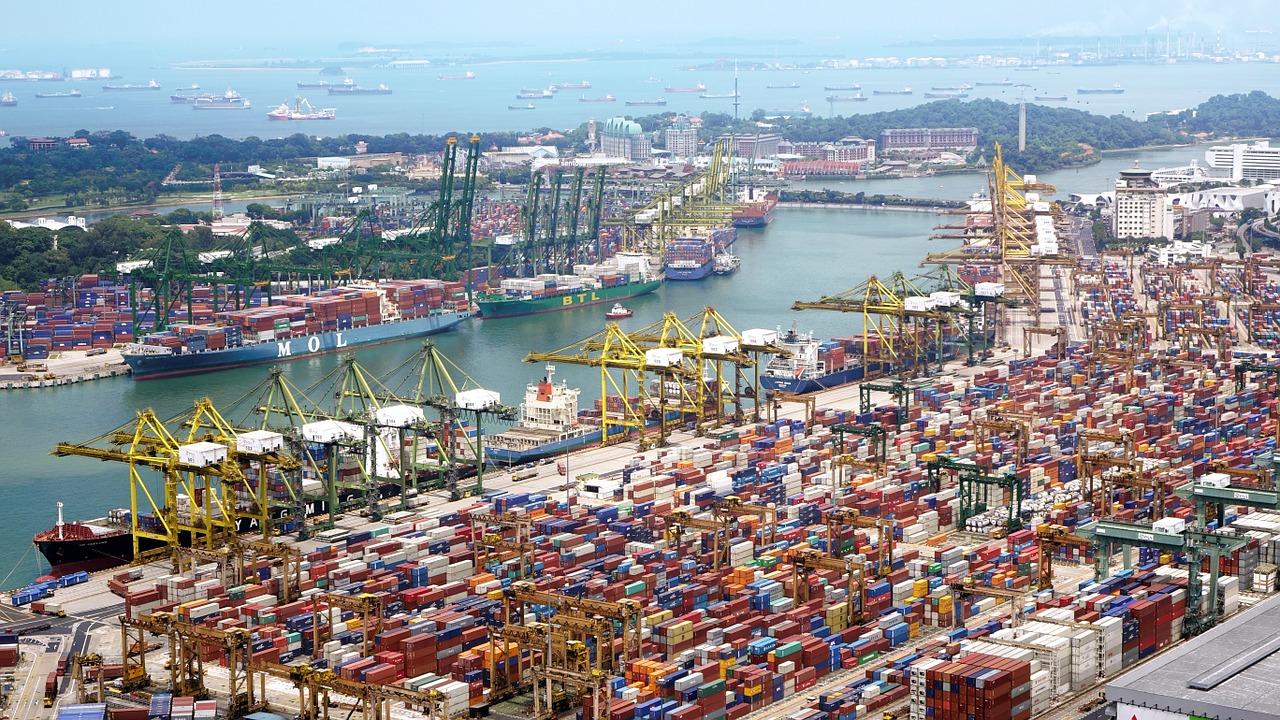 fotografia porto di mare