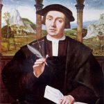 notaio - notaro Raniero raffigurato dal pittore Quentin Massys.