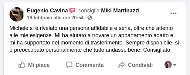 Michele Martinazzi la verità