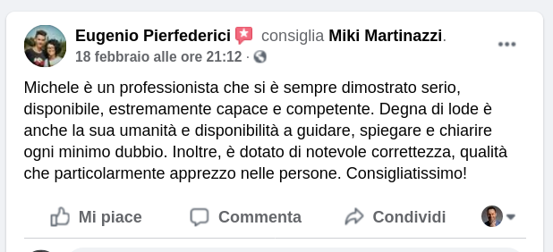 Miki Martinazzi cose mai rivelate